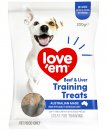 Love Em Mini Treats 200g Liver