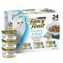 Fancy Feast Collection 24x85g Poultry Beef Marinated