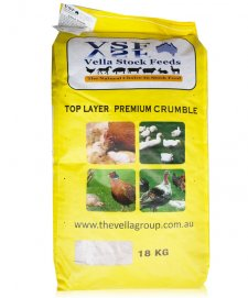 Vella Top Layer Poultry Supreme Crumbles 18kg