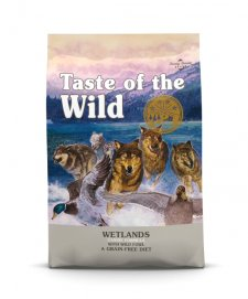 Taste of the Wild Grain Free Dog Adult 13kg Wetlands