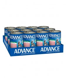 Advance Dog Wet 12X400g All Breed Adult With Chicken Salmon
