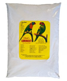 Elliots Lorikeet Dry Food Mix 1Kg