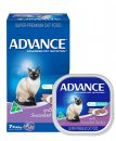 Advance Cat Wet Multipack 7x85g Adult Succulent Turkey