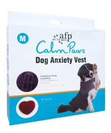 AFP Calm Paws Anxiety Vest for Dogs Medium 26-40 lbs