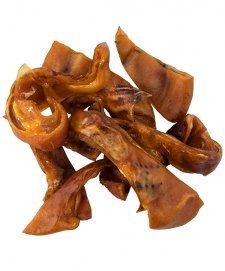 STF Dried Pig Ear Strips 1kg