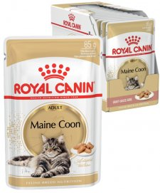 Royal Canin Cat Wet Pouches 12X85G Maine Coon Adult