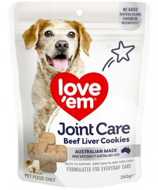 Love Em Cookie Joint Care 250g Beef