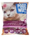 Poo Wee Lavender Clumping Litter15kg