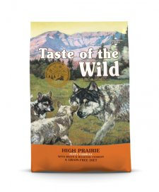 Taste of the Wild Grain Free Dog Puppy 2kg High Prairie