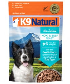 K9 Natural Hoki and Beef 1.8kg (makes 7.2kg)
