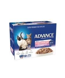 Advance Cat Wet 12x85g Multi Pack Jelly