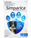 Zoetis Simparica 6 Pack Medium 10.1-20kg