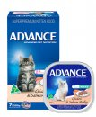 Advance Cat Wet Multipack 7x85g Adult Chicken & Salmon Medley