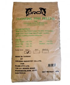 Orca Regular Floating Pellets 10kg Size Baby 1mm
