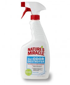 Natures Miracle 3 in 1 Odor Destroyer Linen 709ml